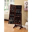 Cheval Mirror  Jewelry Cabinet Armoire
