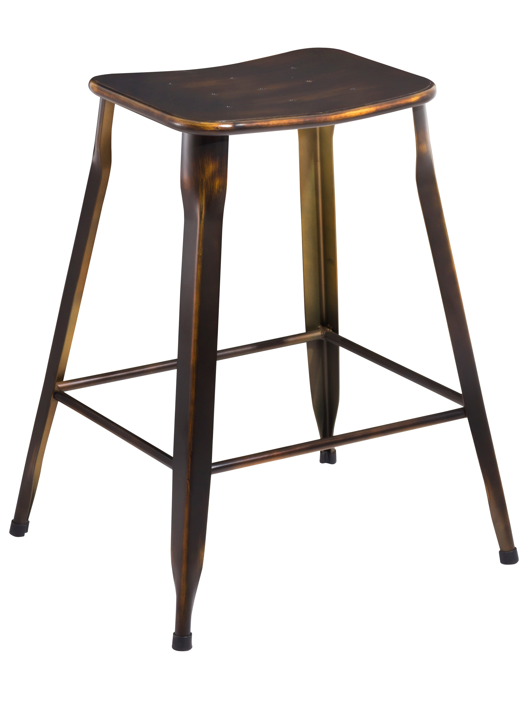 Btexpert 24 inch industrial metal vintage stackable for 24 inch bar stools