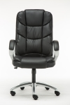 Ergonomic High back Swivel Leather Executive Chair Black