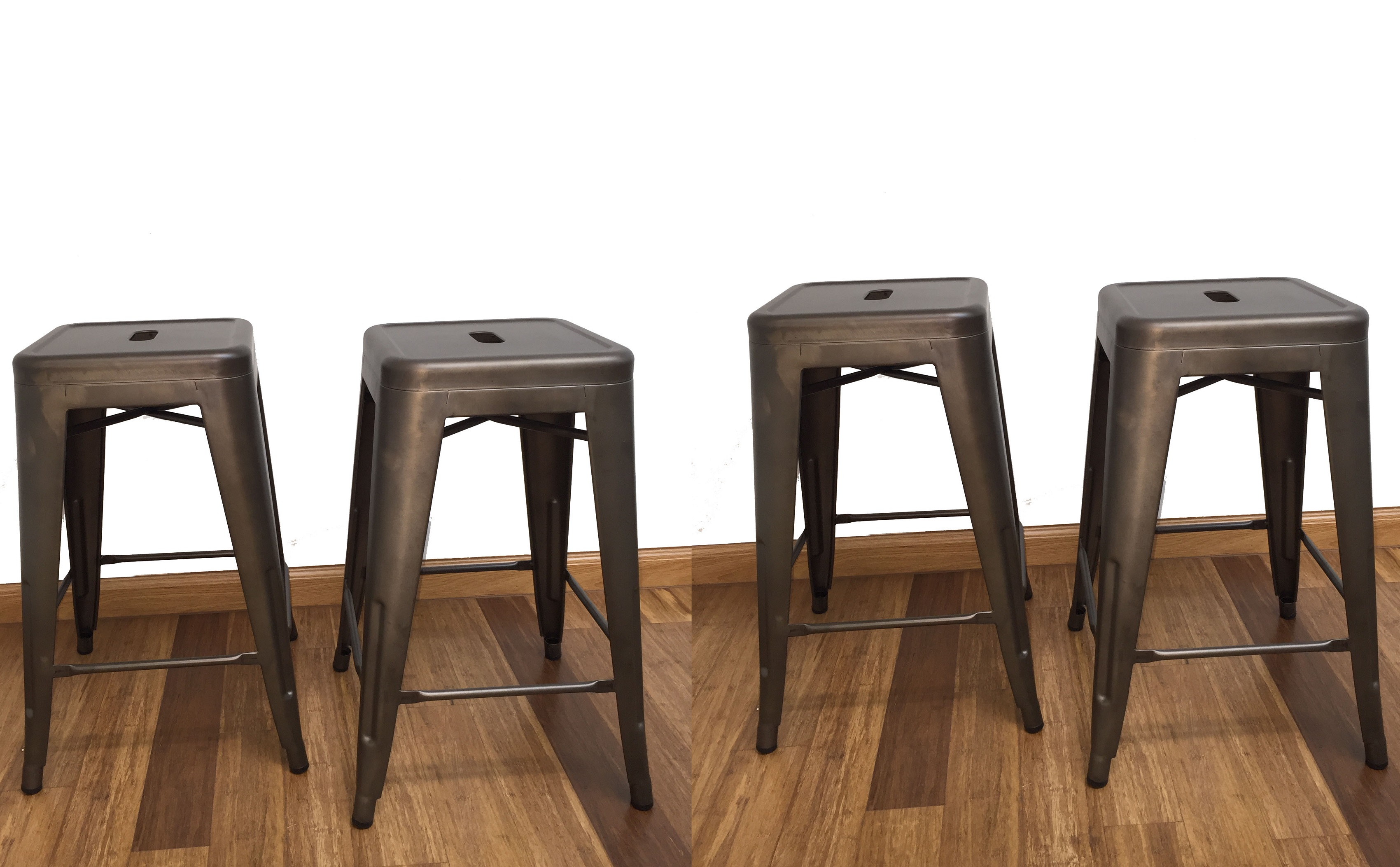 btexpert 24 inch industrial stacking tabouret metal. Black Bedroom Furniture Sets. Home Design Ideas