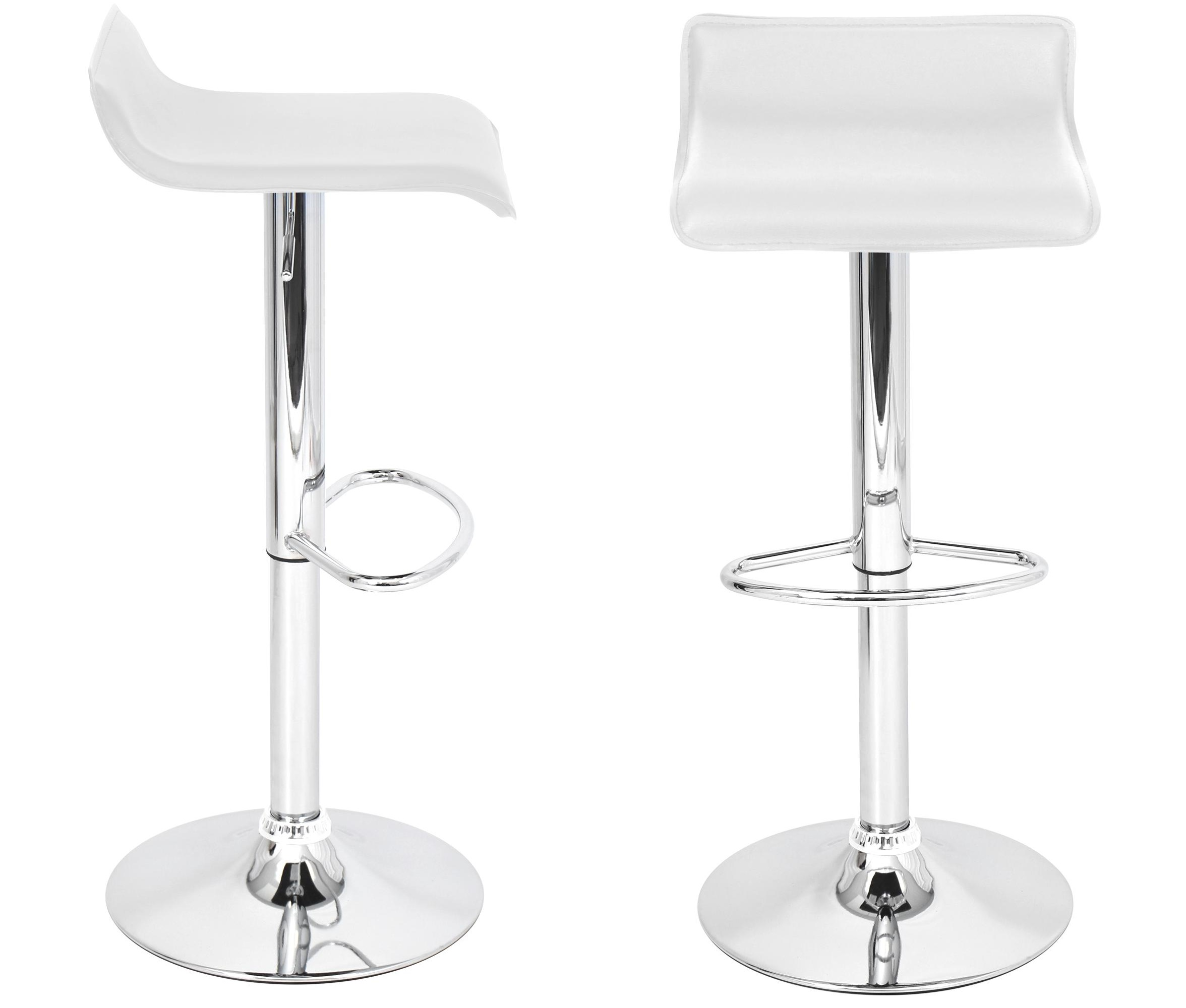 Awesome White Hydraulic Lift Adjustable Height Swivel Bar Height Stool Set Of Two Camellatalisay Diy Chair Ideas Camellatalisaycom