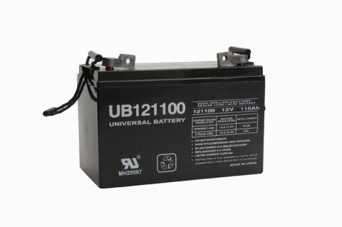 battery for 12 v 110 ah deep cycle agm rv recreational. Black Bedroom Furniture Sets. Home Design Ideas