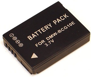 Battery for Panasonic DMW-BCG10E DMW-BCG10PP Lumix DMC-TZ65 DMC-ZS5K DMC-ZS3K