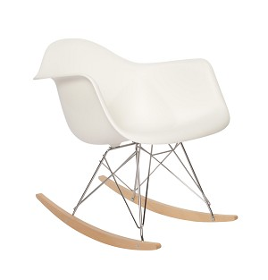 Plastic Rocker Chair