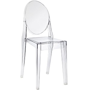 Clear  Crystal Office Accent Ghost Transparent chair