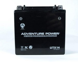 ATV Battery for 2001 Honda TRX350FM TRX 350 FM 4X4 Sealed