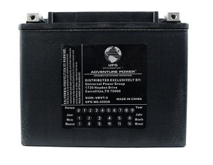 Battery for 1980 Yamaha Midnight Special XS 1100 XS1100LG Heavy Duty AGM