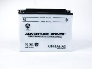 Battery for Yamaha VK540E II III Snowmobile for 2002