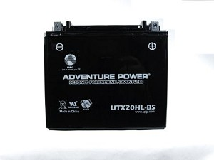 Battery for Polaris V92C DC Classic Deluxe Cruiser Motorcycle for 2004