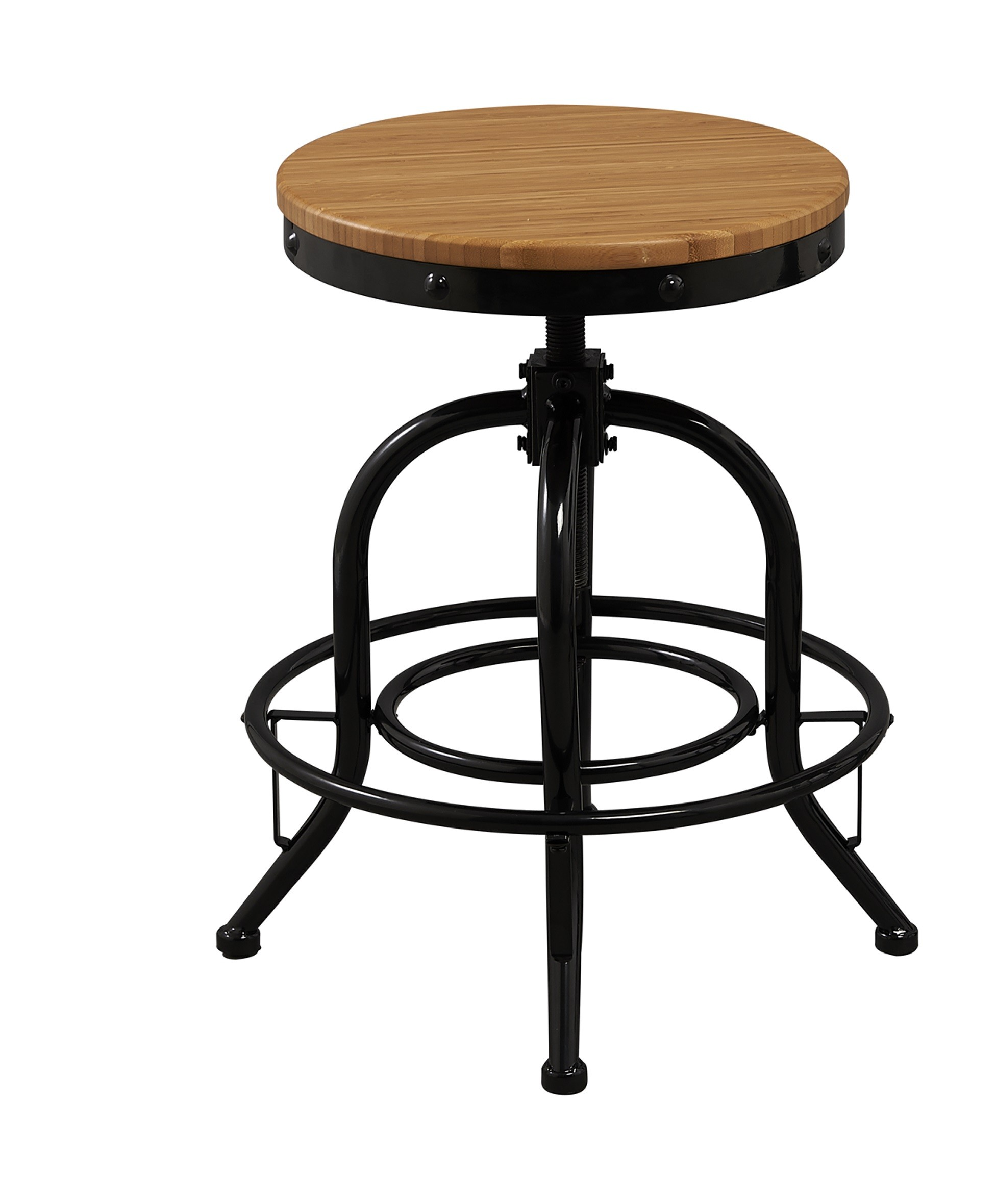Solid Industrial 18 20 24 Or 26 Counter Height Bar Stool